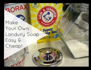 Laundry Soap Recipe easy cheap