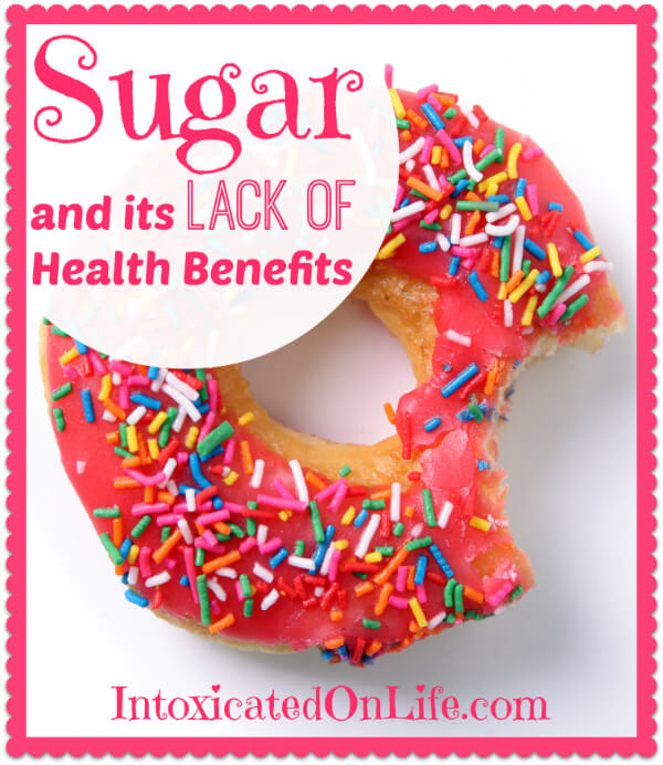 Sugar and its lack of health benefits. Learn about a few of the reasons you should ditch the sweet treats!