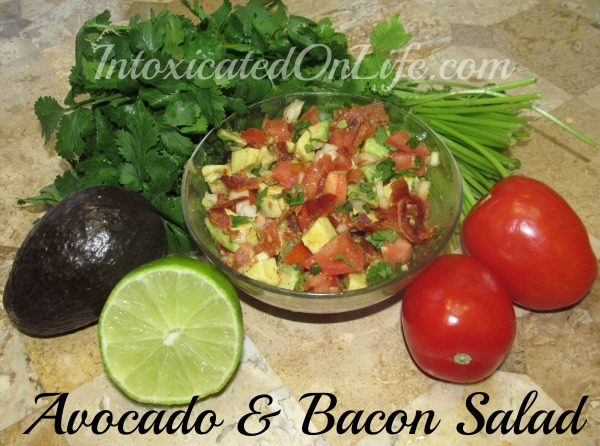 Avocado Salad with Bacon