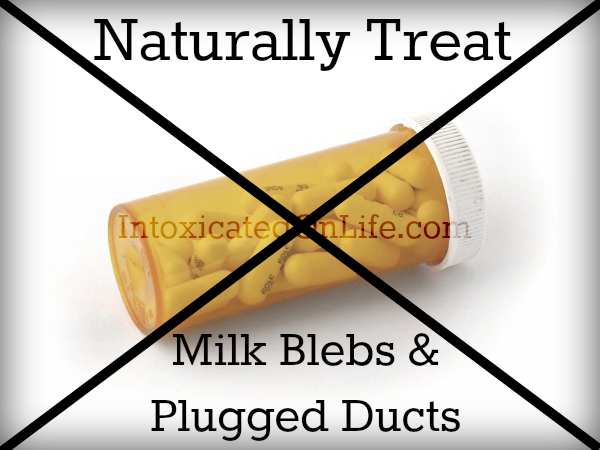 natural remedies for plugged ducts