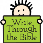 handwriting worksheets copywork for Bible memory