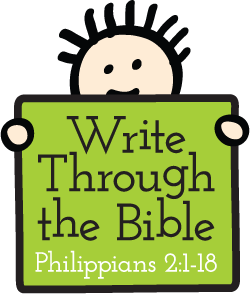 Write Through the Bible (Year of copywork focused on God's word)