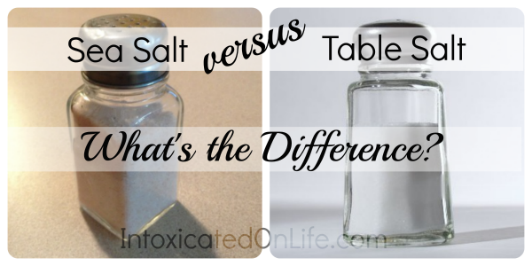 Table Salt vs Sea Salt