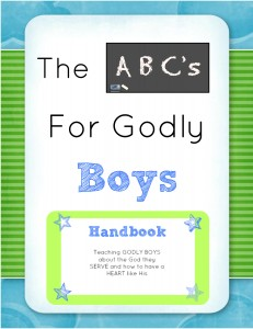 The ABC's of Godly Boys