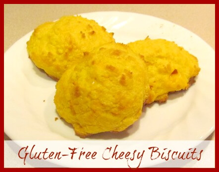 Gluten Free Cheesy Biscuits