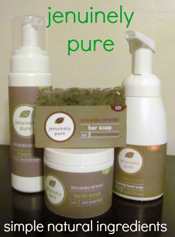 Jenuinely Pure: natural skin care products