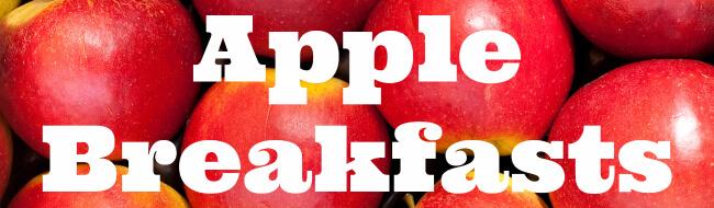 Apple Breakfasts
