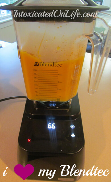 Blendtec's groovy, high-powered, amazingly awesome blender makes it easy to make great smoothies, like this amazing pumpkin smoothie. http://www.intoxicatedonlife.com/2013/11/10/healthy-pumpkin-pie-smoothie-dairy-sugar-free/