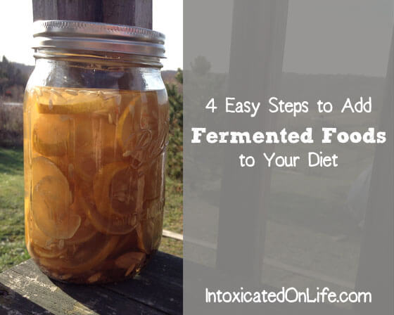 4 Easy Steps to Add Fermented Foods to Your Diet