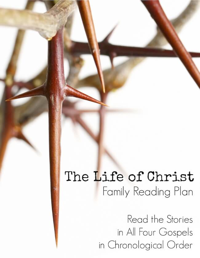 The Life of Christ – Family Reading Plan (Free for a limited time with a coupon code: expires 1/11/14)