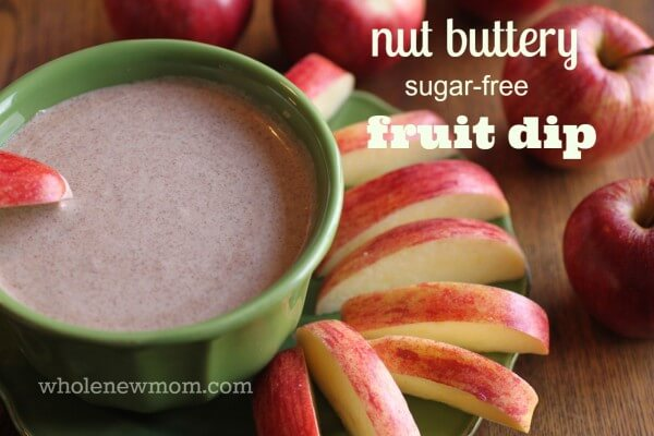 Nut Butter Fruit Dip