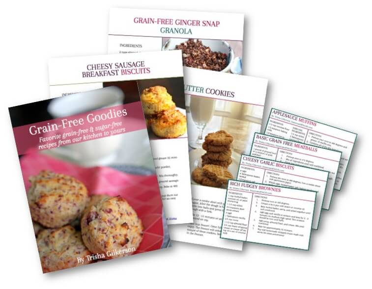Snag this cookbook {FREE}! Grain Free Goodies: Sugar-Free and Grain-Free Recipes! IntoxicatedOnLife.com #GrainFree #GlutenFree #SugarFree #HealthyRecipes
