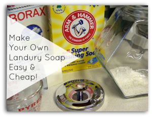 Laundry Soap Recipe easy cheap