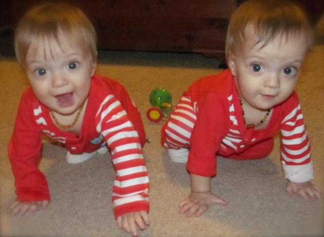 having two babies