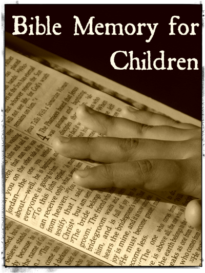 Bible Memory for Children