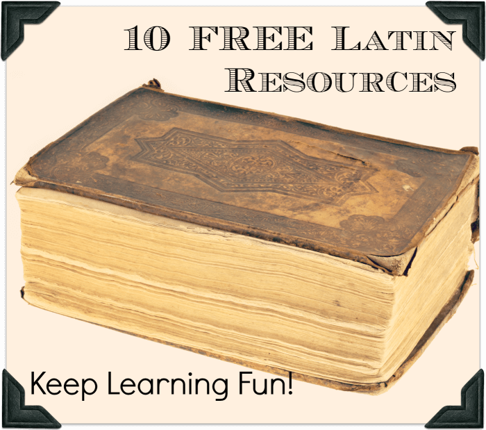 10 Free Latin Resources to Keep Learning Fun!