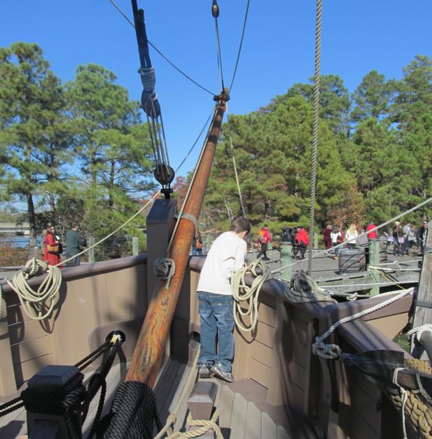 Boat in Jamestown
