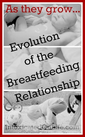 As they grow- Evolution of the Breastfeeding Relationship