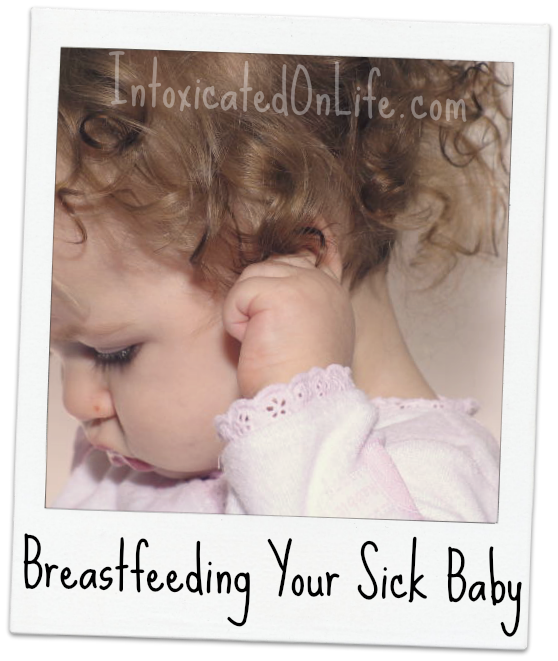 Breastfeeding a Sick baby