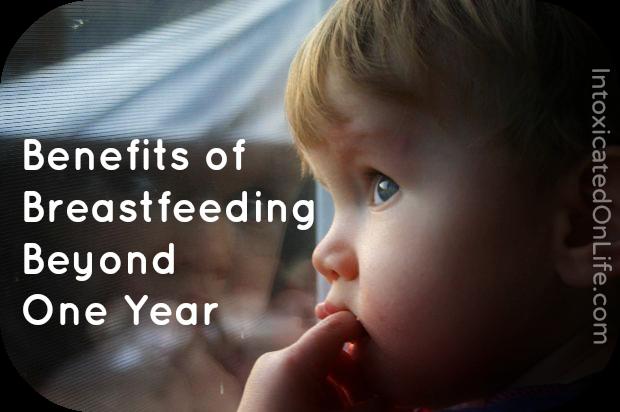 5 Benefits of Breastfeeding Beyond a Year