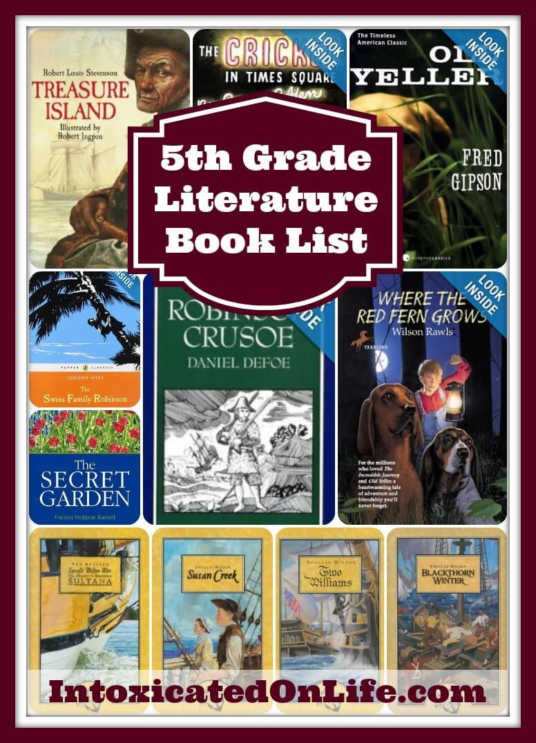 5th Grade Literature