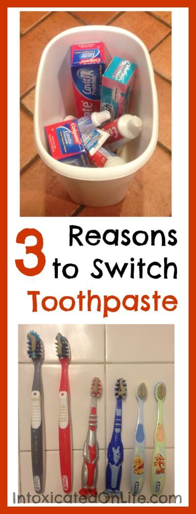 3 Reasons to make the Switch to Natural Toothpaste