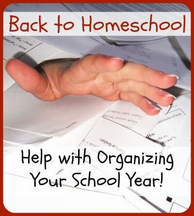 Back to Homeschool: Organize School Records