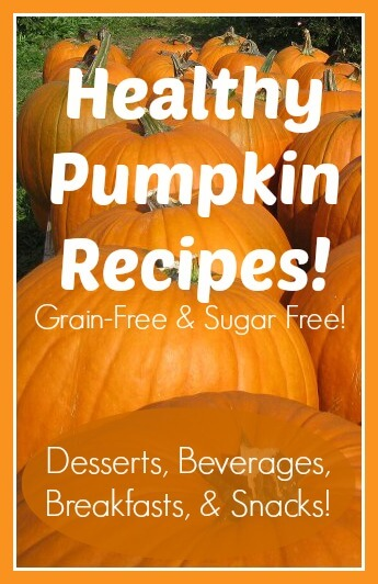 20 Gluten-Free, Sugar-Free Healthy Pumpkin Recipes!
