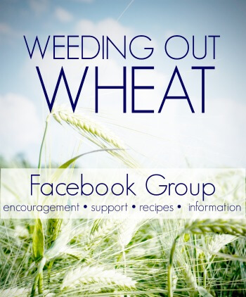 Weeding Out Wheat Facebook Group
