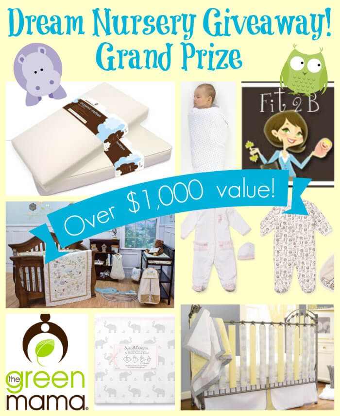 Dream Nursery Giveaway Grand Prize!