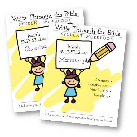 Write Through the Bible - Isaiah
