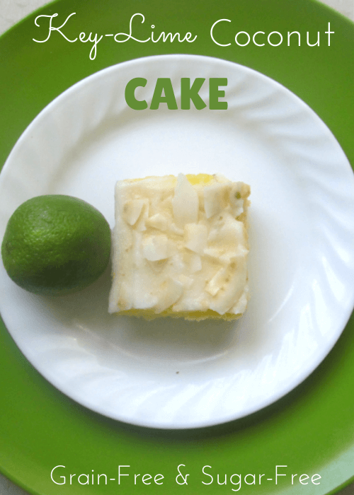 This key-lime coconut cake is so easy, and it's gluten-free!